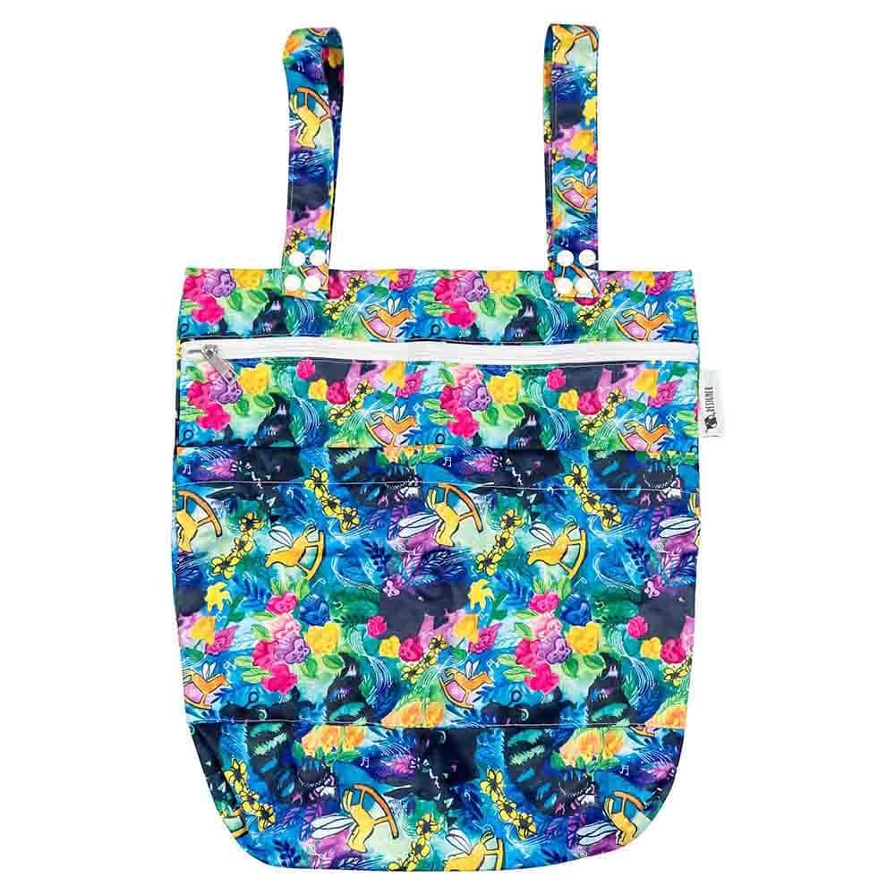 Designer Bums Wet Bag - Golden Afternoon