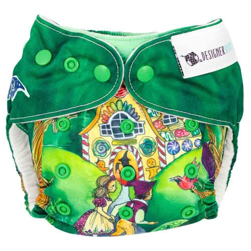 Designer Bums Reusable Nappy - Hansel & Gretel