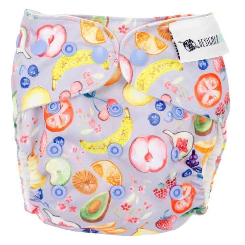 Designer Bums Reusable Nappy - Harvest