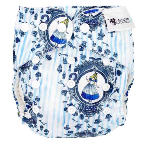 Designer Bums Reusable Nappy - Looking Glass
