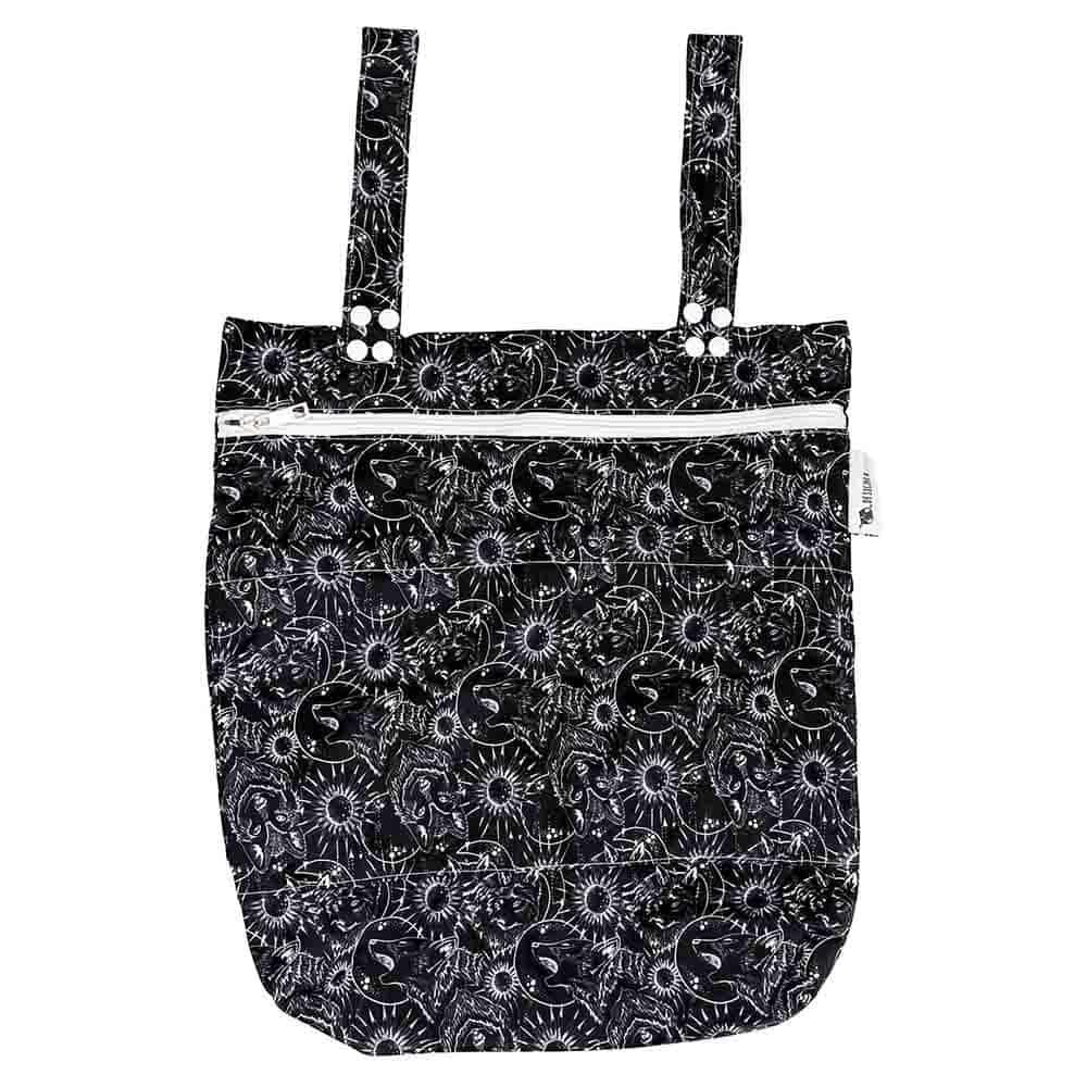Designer Bums Wet Bag - Luna Wolf