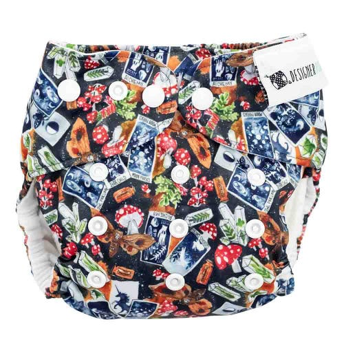 Designer Bums Reusable Nappy - Magic Spell
