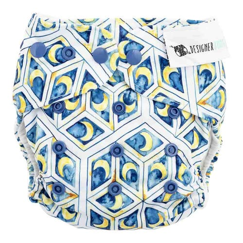 Designer Bums Reusable Nappy - Moonspell