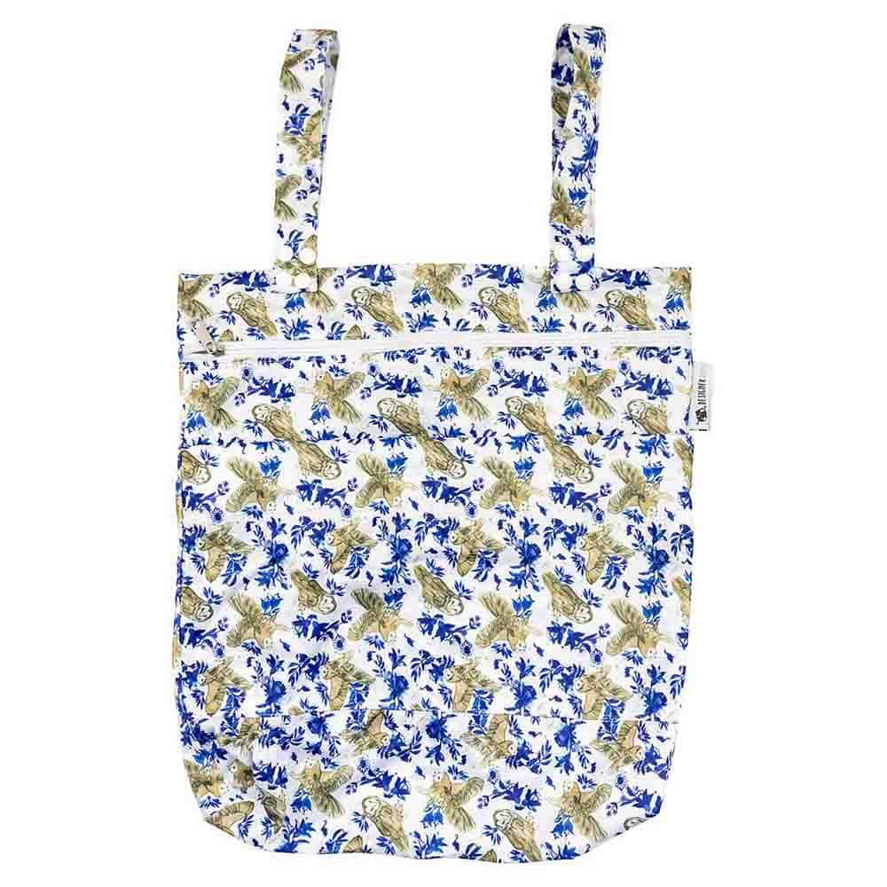 Designer Bums Wet Bag - Owl Garden
