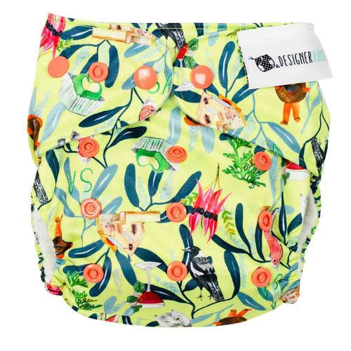 Designer Bums Reusable Nappy - SA