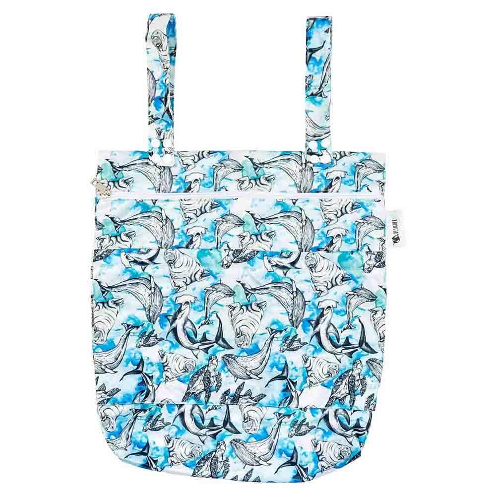 Designer Bums Wet Bag - Salty Crew