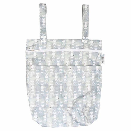 Designer Bums Wet Bag - Silver Moon
