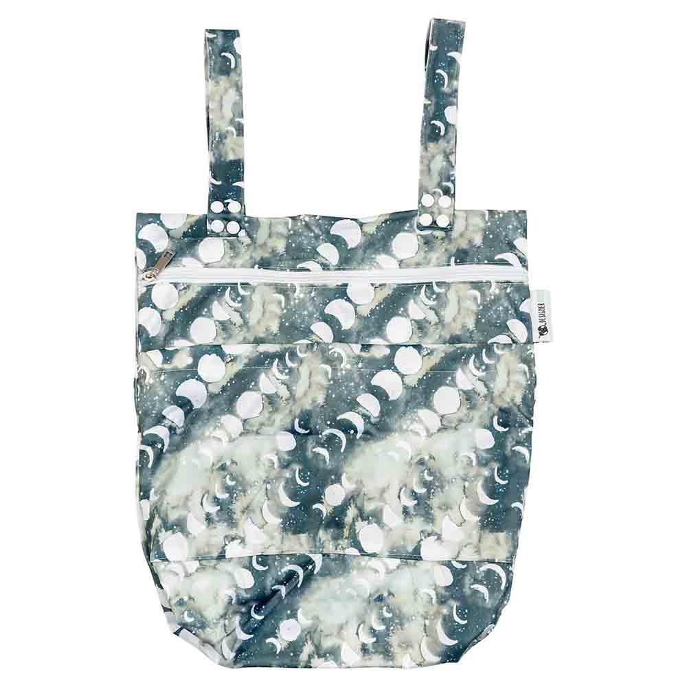 Designer Bums Wet Bag - Smoky Quartz Moon