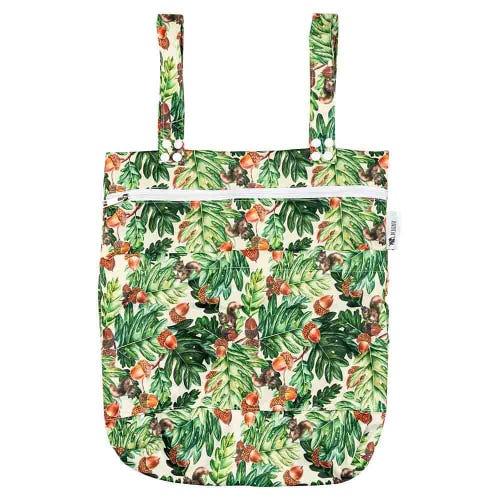 Designer Bums Wet Bag - Squirrel Oak
