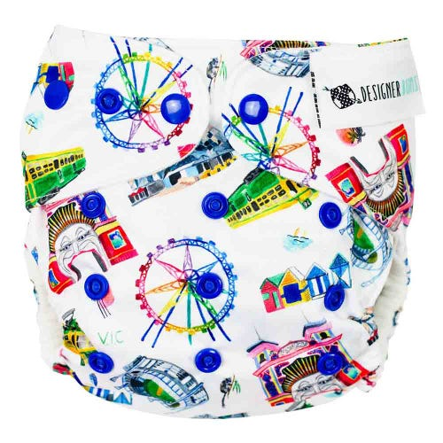 Designer Bums Reusable Nappy - VIC