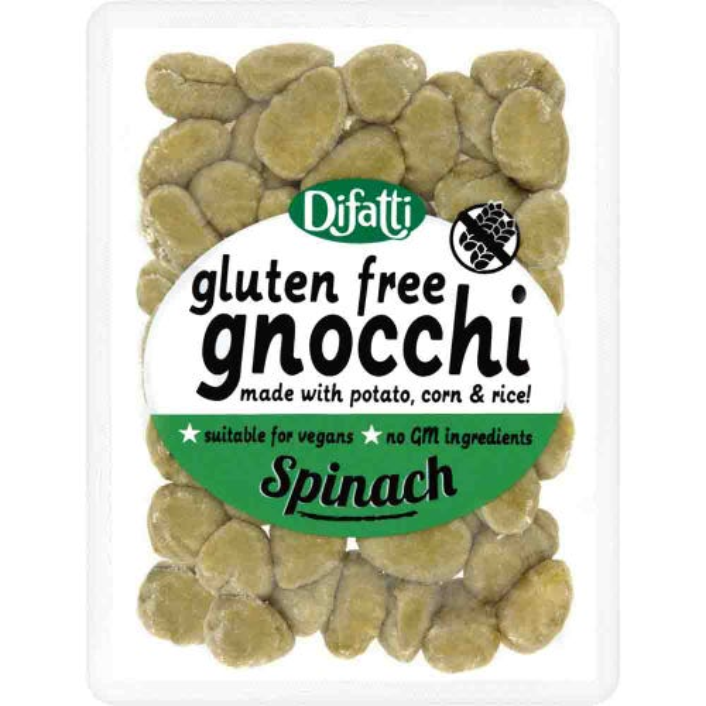 Difatti Gluten Free Gnocchi Spinach (250g)