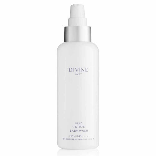 Divine Baby Head to Toe Baby Wash (250ml)