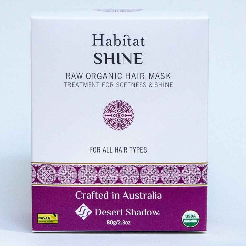 Desert Shadow Organic Hair Treatment Shine Shadow (100g)