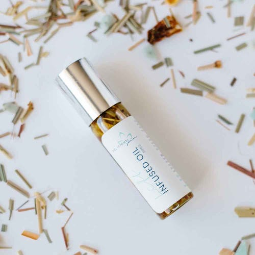 Delicious Skin Infused Oil Natural Perfume - Calm