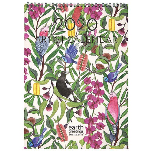 Earth Greetings 2020 Artist Calendar