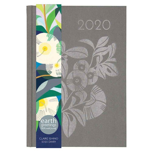 Earth Greetings 2020 Claire Ishino Diary Grey