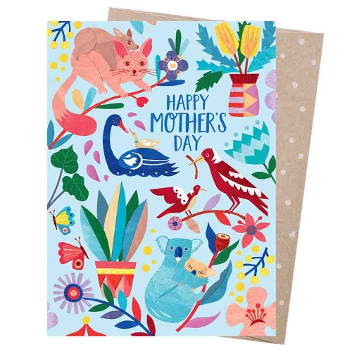 Earth Greetings Blank Card - Mother Nature