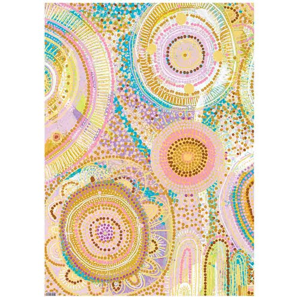 Earth Greetings Wrapping Paper - Mermaid Waters (1 Sheet)