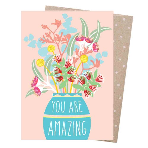 Earth Greetings Blank Card - Amazing Bouquet