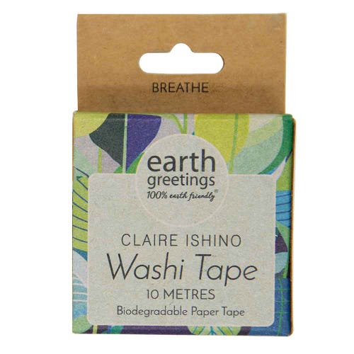 Earth Greetings Washi Tape - Wattle Walk