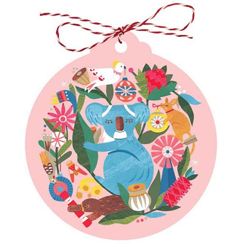 Earth Greetings Christmas Gift Tags - Circle of Friends (8 Tags)