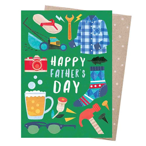 Earth Greetings Blank Card - Dad Things