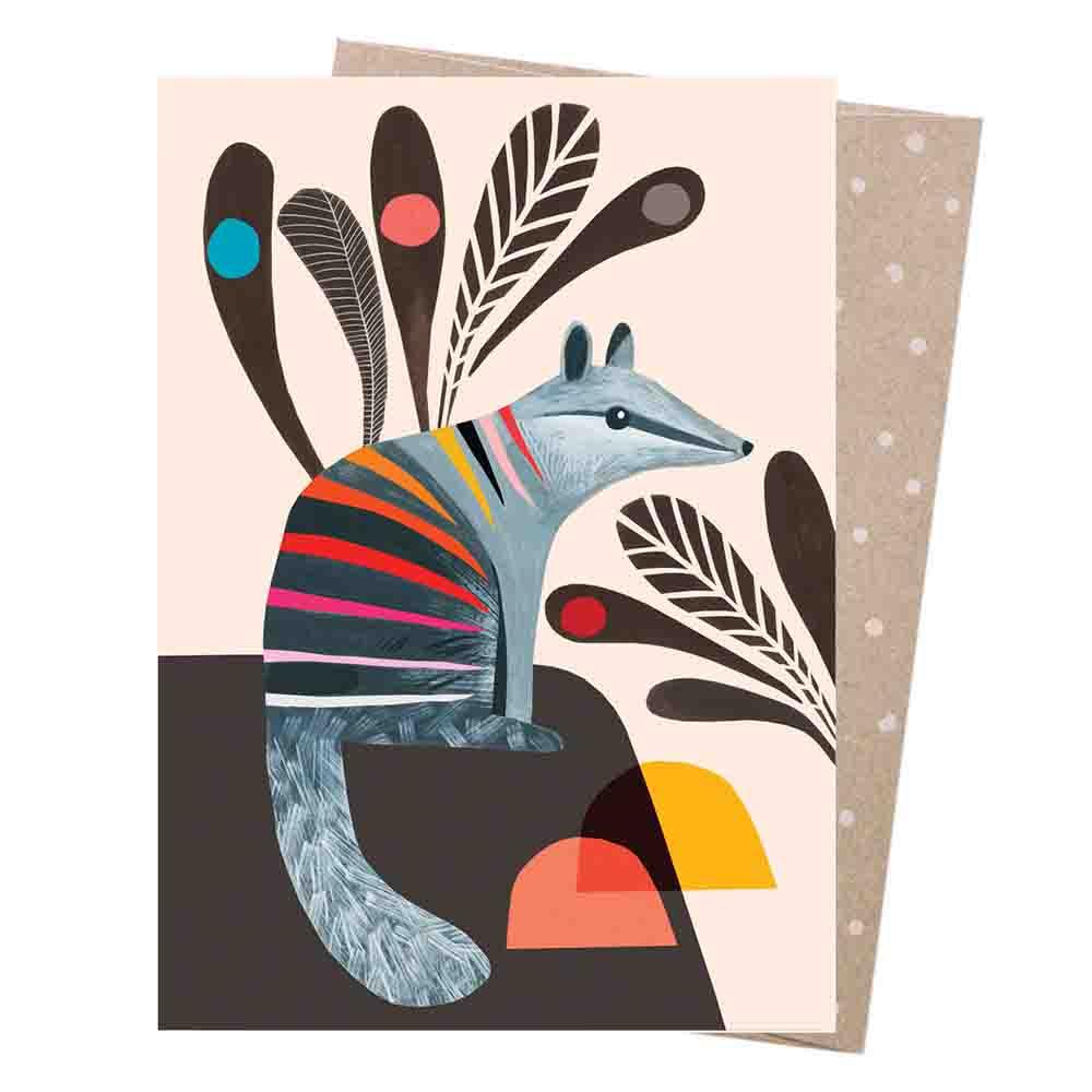 Earth Greetings Blank Card - Numbat