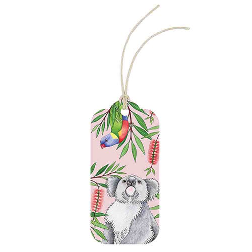 Earth Greetings Gift Tag - Outback Antics