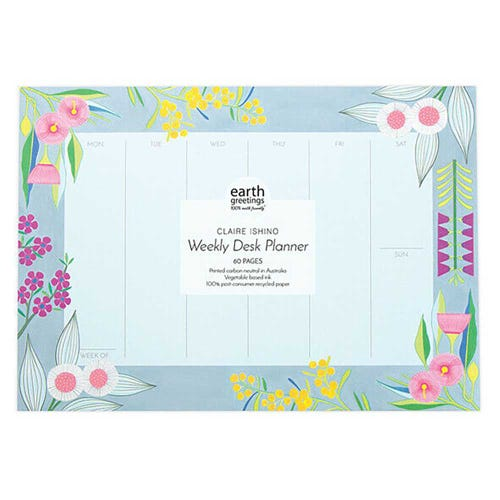 Earth Greetings Daily Planner - Rich & Rare