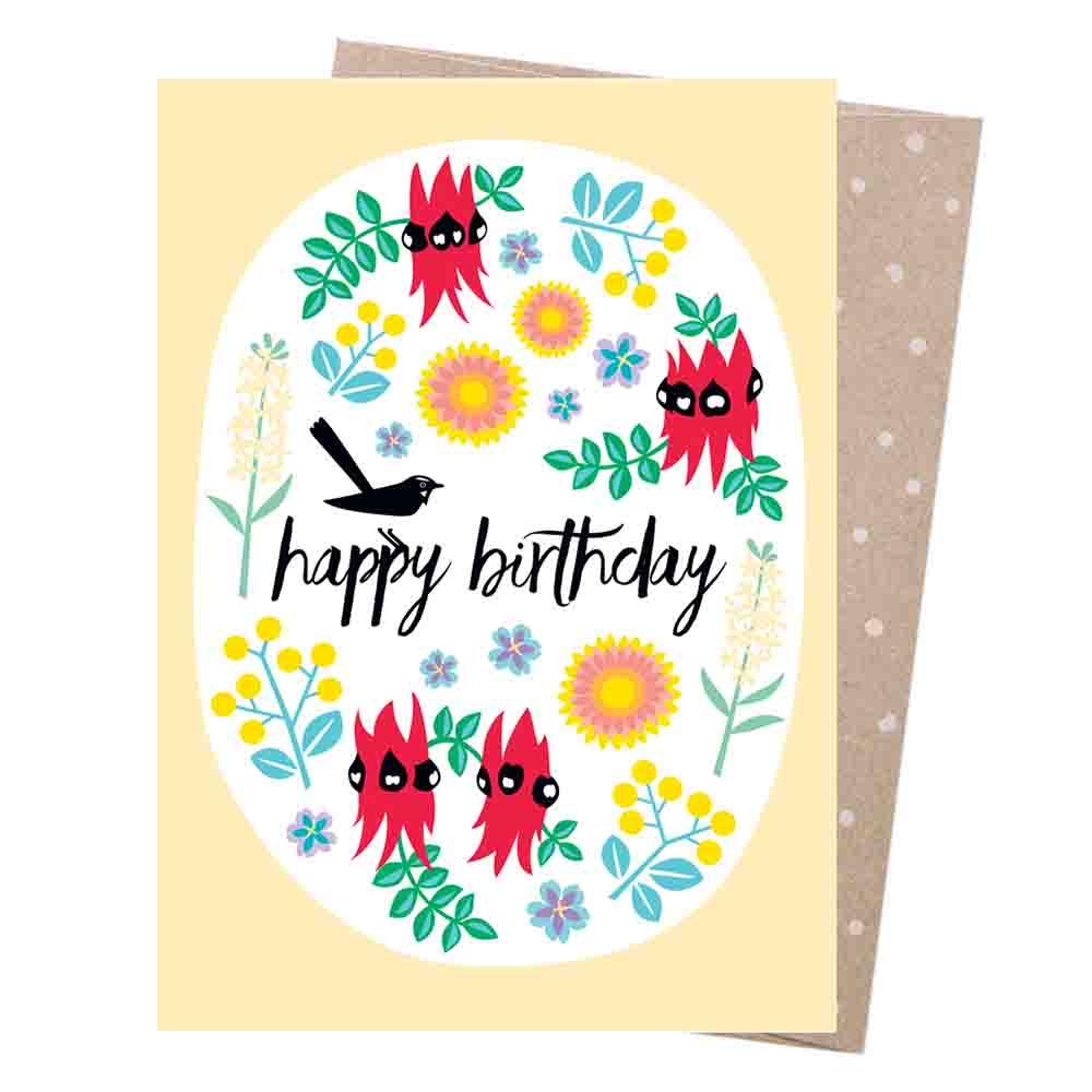 Earth Greetings Blank Card - Wildflowers
