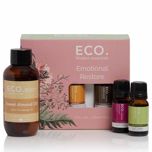 Eco. Essential Oil Emotional Restore Pack