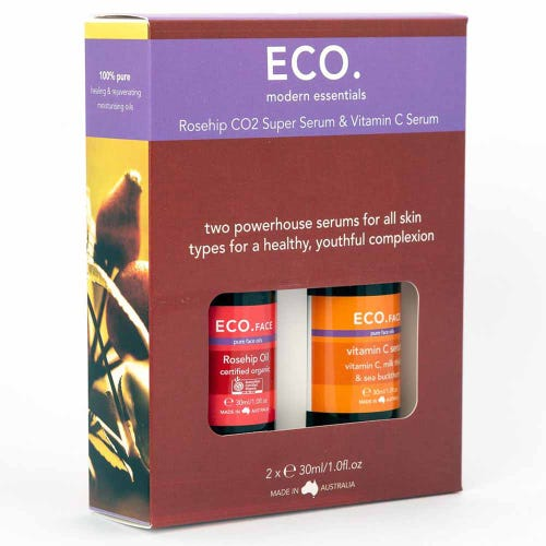 Eco. Rosehip CO2 Super Serum & Vitamin C Serum (2x30ml)