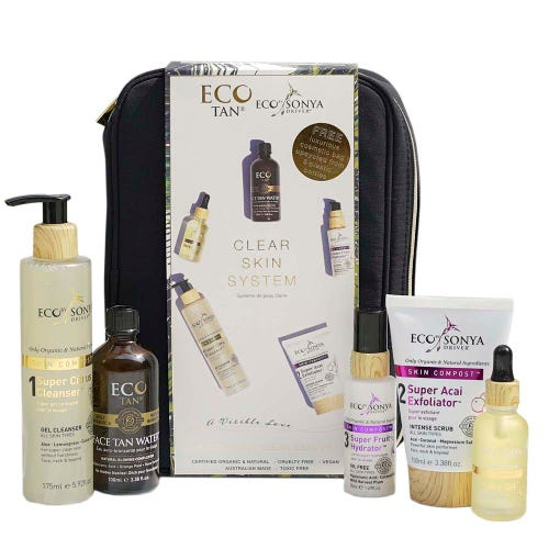 Eco Tan Clear Skin System - Black Bag