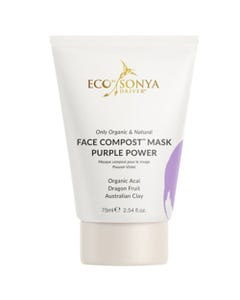 Eco by Sonya Face Compost Mask Purple Power (75ml)