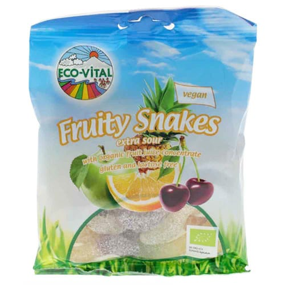 Eco-Vital Fruity Snakes (100g)