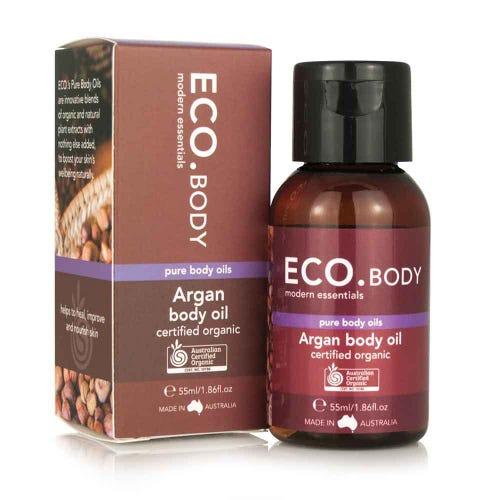 Eco. Certified Organic Argan Body Oil (55ml)