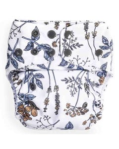 EcoNaps Reusable Cloth Nappy - Vintage Botanicals