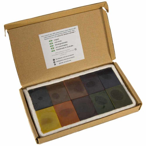 Eco Crayons 10 Pack