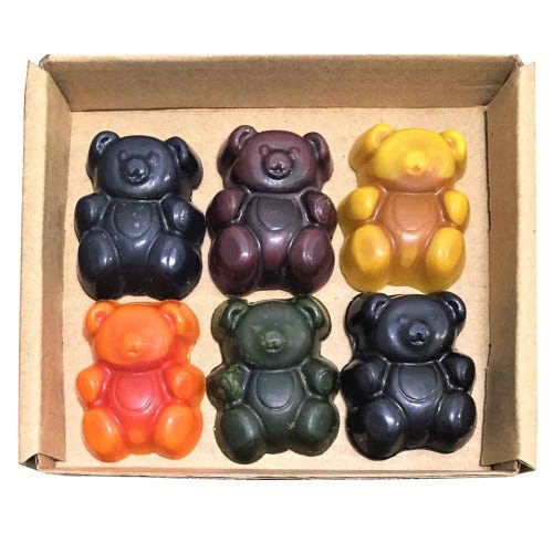 Eco Crayons Bears