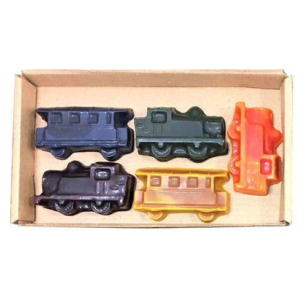Eco Crayons Trains