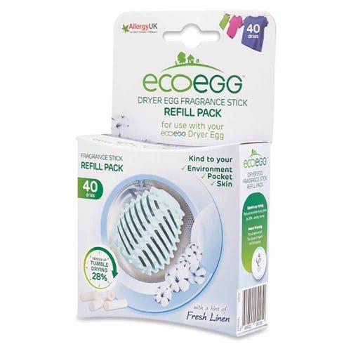 Ecoegg Dryer Egg Fragrance Stick Refill - Fresh Linen