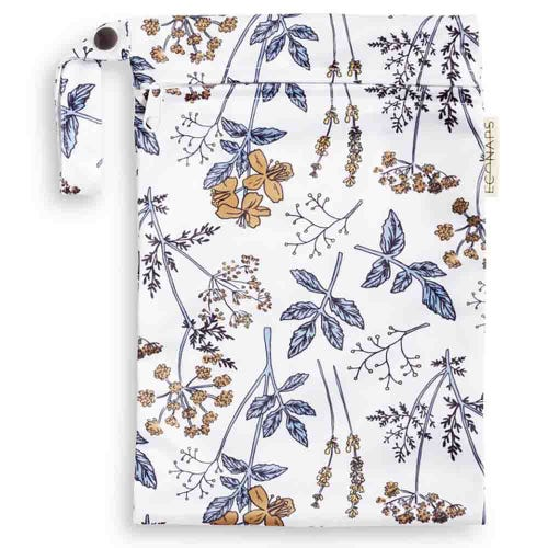 EcoNaps Reusable Mini Wet Bag - Vintage Botanicals