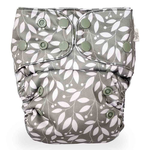 EcoNaps Reusable Cloth Nappy - Sage