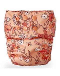 EcoNaps Reusable Cloth Nappy - Vintage Blossom