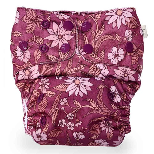 EcoNaps Reusable Cloth Nappy - Xanadu