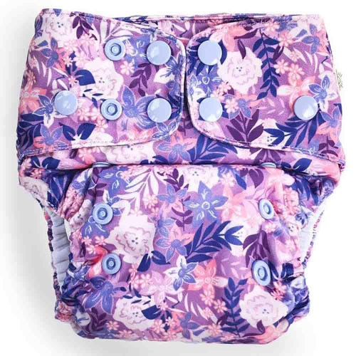 EcoNaps Reusable Cloth Nappy - Summer Blooms