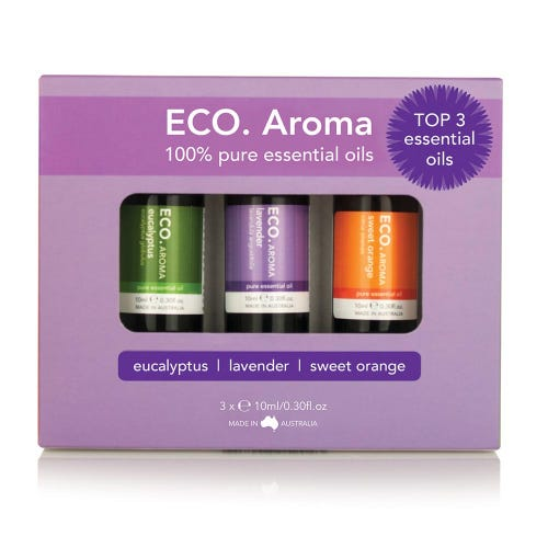 Eco. Essential Oil Trio - Top 3 Essential Oils