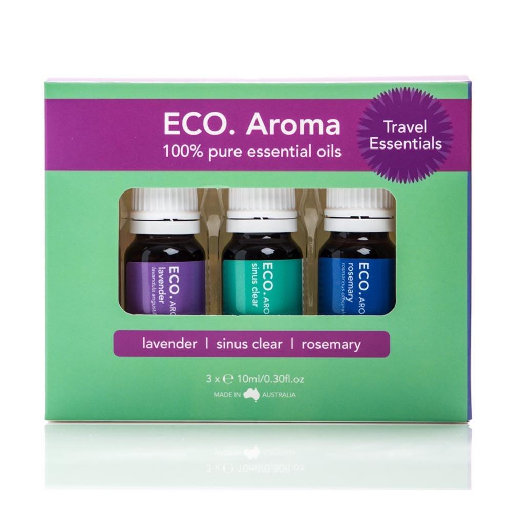 Eco. Essential Oil Trio - Travel Essentials