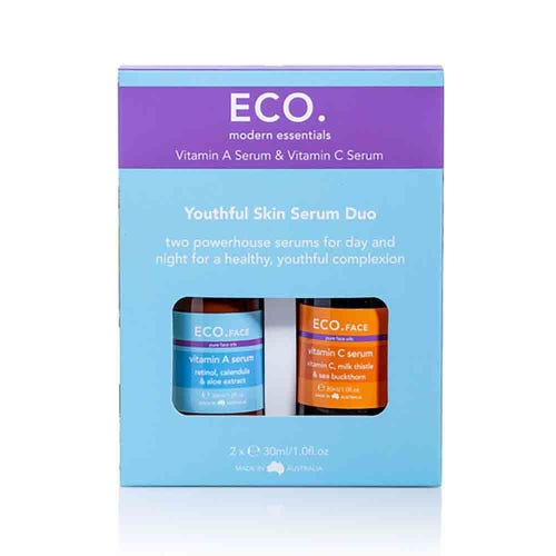 Eco. Vitamin A & Vitamin C Serum Duo (2x30ml)