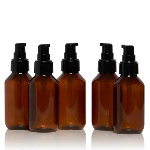 Eco. Bottle & Treatment Pump 95ml 5 Pack